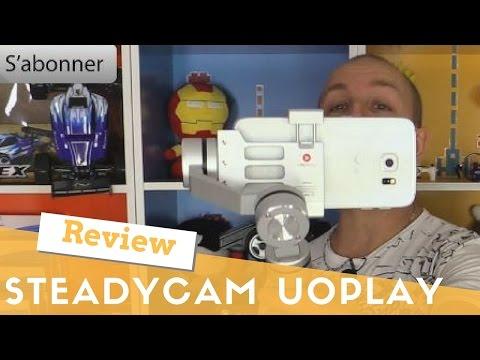 Aibird Uoplay -  Steadycam Motorisé Smartphone et Gopro -  Le plus beau des Gimball que j