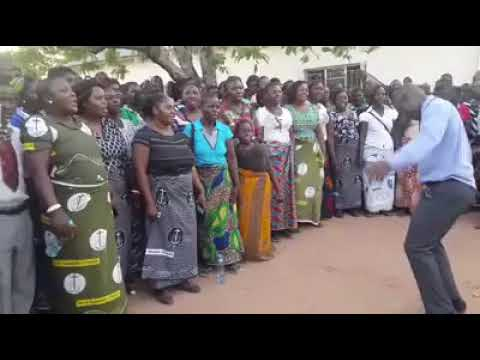New Apostolic Church - choir in rural Zambia