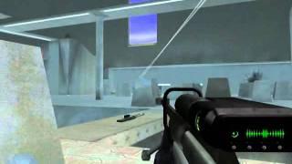 Halo Combat Evolved - Sniper Gameplay  PC