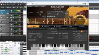 VST instruments - RealGuitar vs Spicy Guitar(RealGuitar is an acoustic guitar VST instrument by MusicLab. Spicy Guitar is a free acoustic guitar VST instrument. Here, for comparison, RealGuitar is demoed, ..., 2014-03-21T05:14:13.000Z)