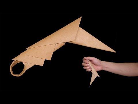 Easy make paper karambit - Paper Knife