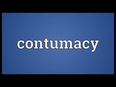 Header of contumacy
