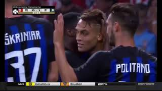 Atletico Madrid 0-1 inter Milan   But de Martínez