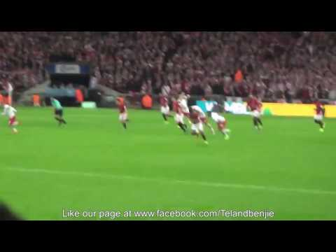 The finally goal of Zlatan from view of a fan - Love Manucians - |Manucians VN|