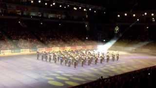 Brookeborough/Ballinran Massed Flutes,Colonel Bogey, Belfast Tattoo 2013.