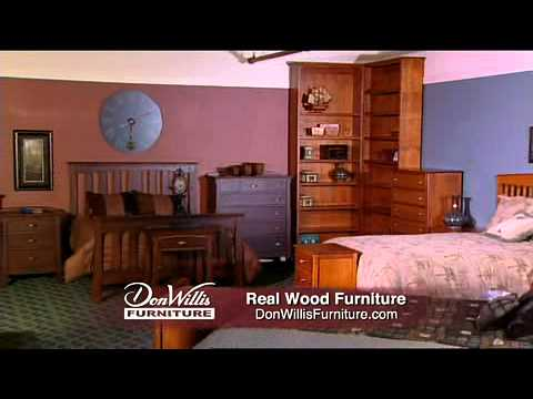 Don willis furniture made in the northwest youtube for Furniture northwest
