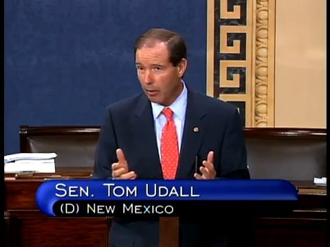 Tom Udall: Public Option Healthy for America (Excerpts)