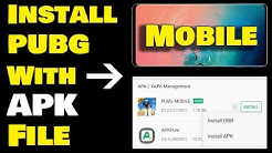 Install PUBG in Mobile With APK File - Very Easy Installation With ApkPure