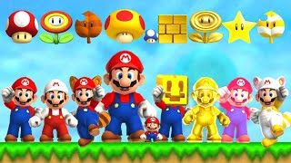 New Super Mario Bros 2 HD - All Power-Ups