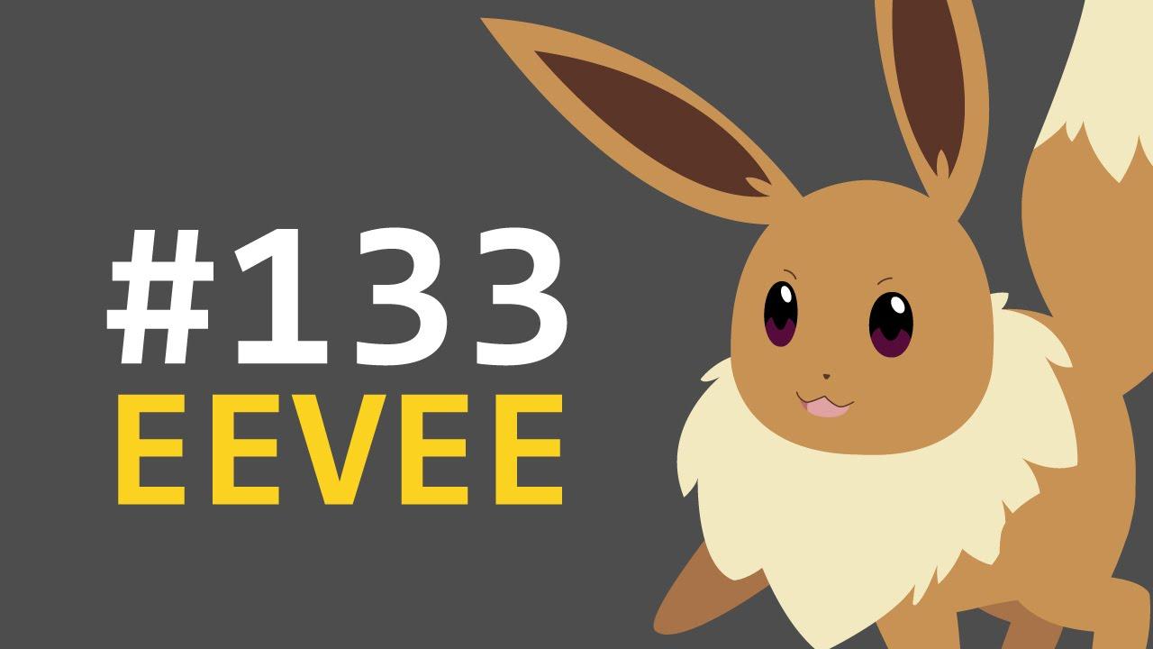 Eevee pokedex animation also youtube rh
