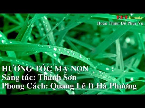 Hương Tóc Mạ Non Karaoke xuyenbui