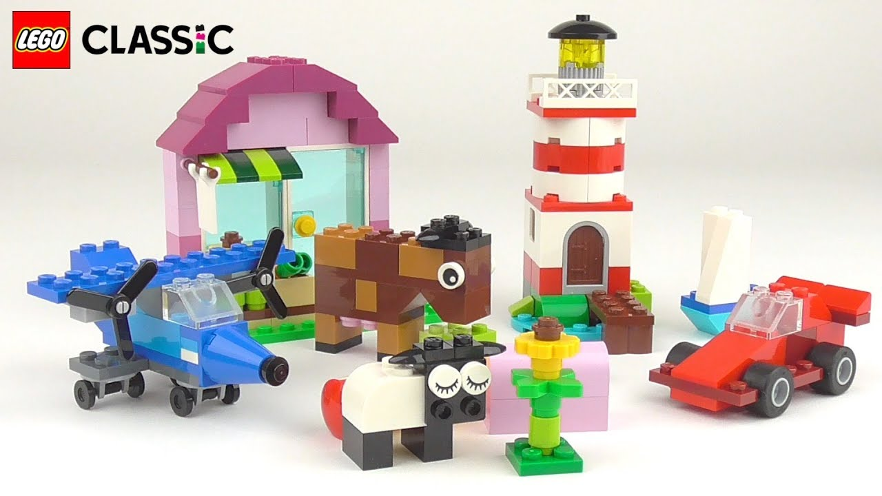 LEGO Classic Creative Bricks (10692) - Toy Unboxing and Building Ideas