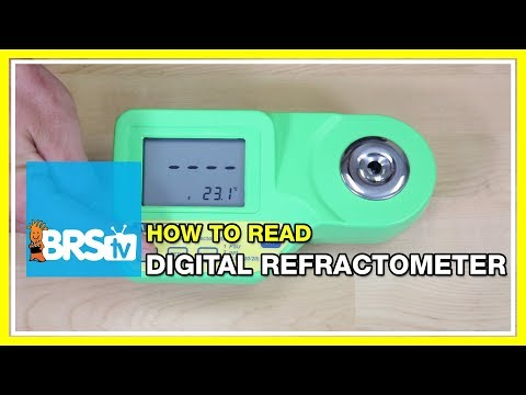 How To Read Salinity Using The Milwaukee Digital Refractometer | BRStv How-To