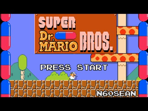 Super Dr Mario Bros - made with Super Mario Maker