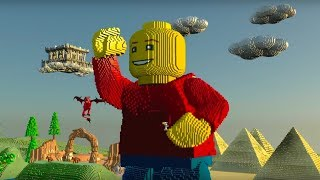 LEGO Worlds - All Worlds, Planets Gameplay Review