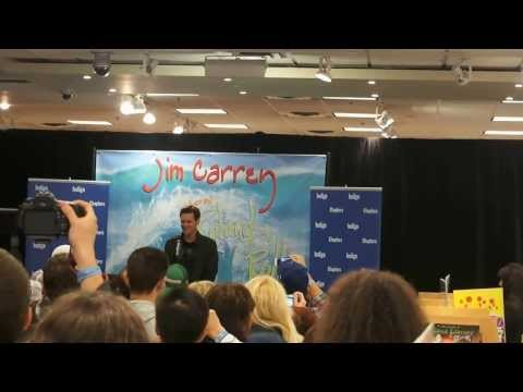 Jim Carrey At Indigo Yorkdale In Toronto For How Roland Rolls Clip