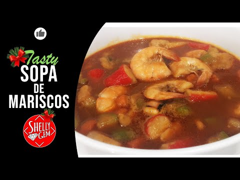 Sea Food Soup/Mexican Style 🐟🦀🦐🦞🦑