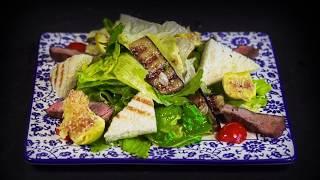 Лучший салат с ростбифом в Алматы - Ресторан VIZIR
