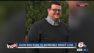 Avon man runs to incredible weight loss