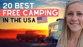 20 Best Free Camṗing Spots in USA | 2020 UPDATE