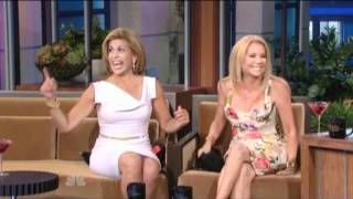 Kathie Lee and Hoda Bring 'Wine Rack,' Boozy Smooches to 'The Tonight Show' VIDEO