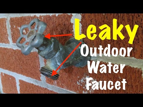 leaky-outdoor-water-faucet
