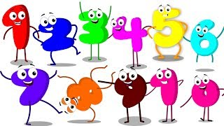Bud Bud Buddies | The Numbers Song | Learn Numbers | Kids Songs | Children Rhymes