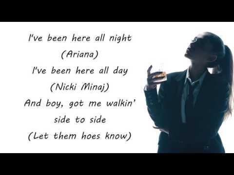 Arina  grande  side  to  side  lyrics  song