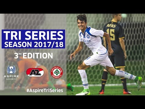Aspire Tri Series 3rd Week Recap 2017/18 | AZ Alkmaar & Lebanon National Team