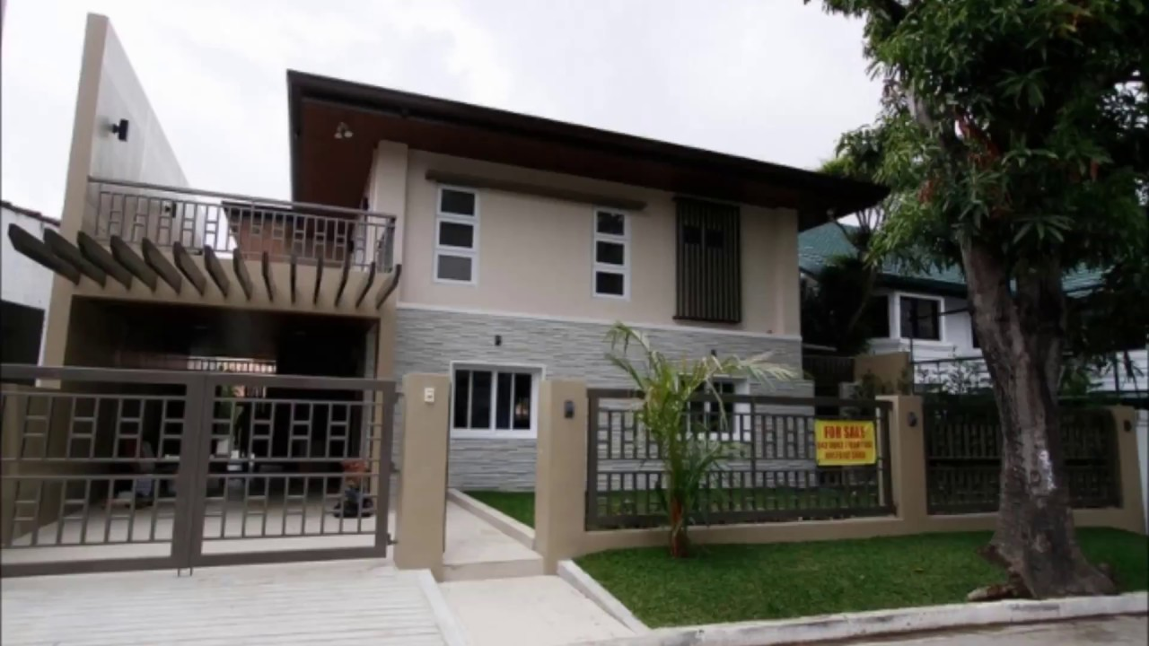 For sale modern house in tahanan village para aque city for Sale moderne