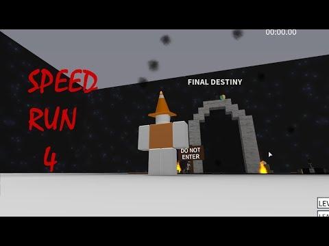 ROBLOX Speed Run 4 - Final Destiny