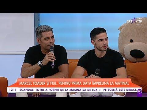 Marcel Toader şi Fiul Lui, Maximilian, Pentru Prima Dată împreună La Star Matinal De Weekend!