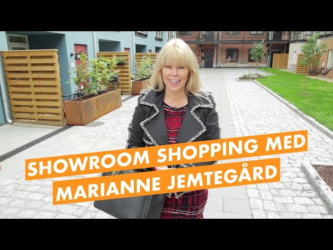Showroom shopping av gulv med Marianne Jemtegård
