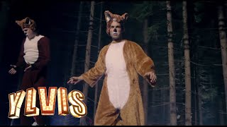 Ylvis - The Fox (What Does The Fox Say?) [Official music video HD](iTunes: http://smarturl.it/YlvisFox Fra I kveld med Ylvis på TVNorge. Ylvis - [Official music video playlist HD]: ..., 2013-09-03T13:24:54.000Z)