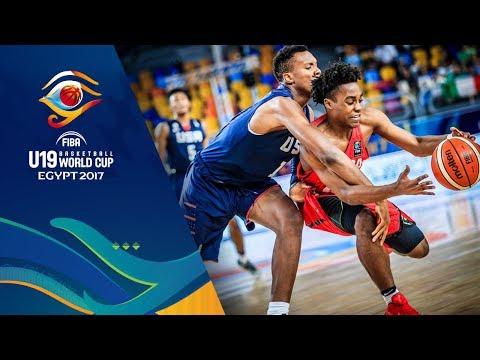 Canada vs USA - Highlights - Semi-Final - FIBA U19 Basketball World Cup 2017