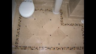 Best 40 Bathroom Flooring Ideas 2018 | Tiles Vinyl Planks Waterproof Installation Cheap DIY Budget