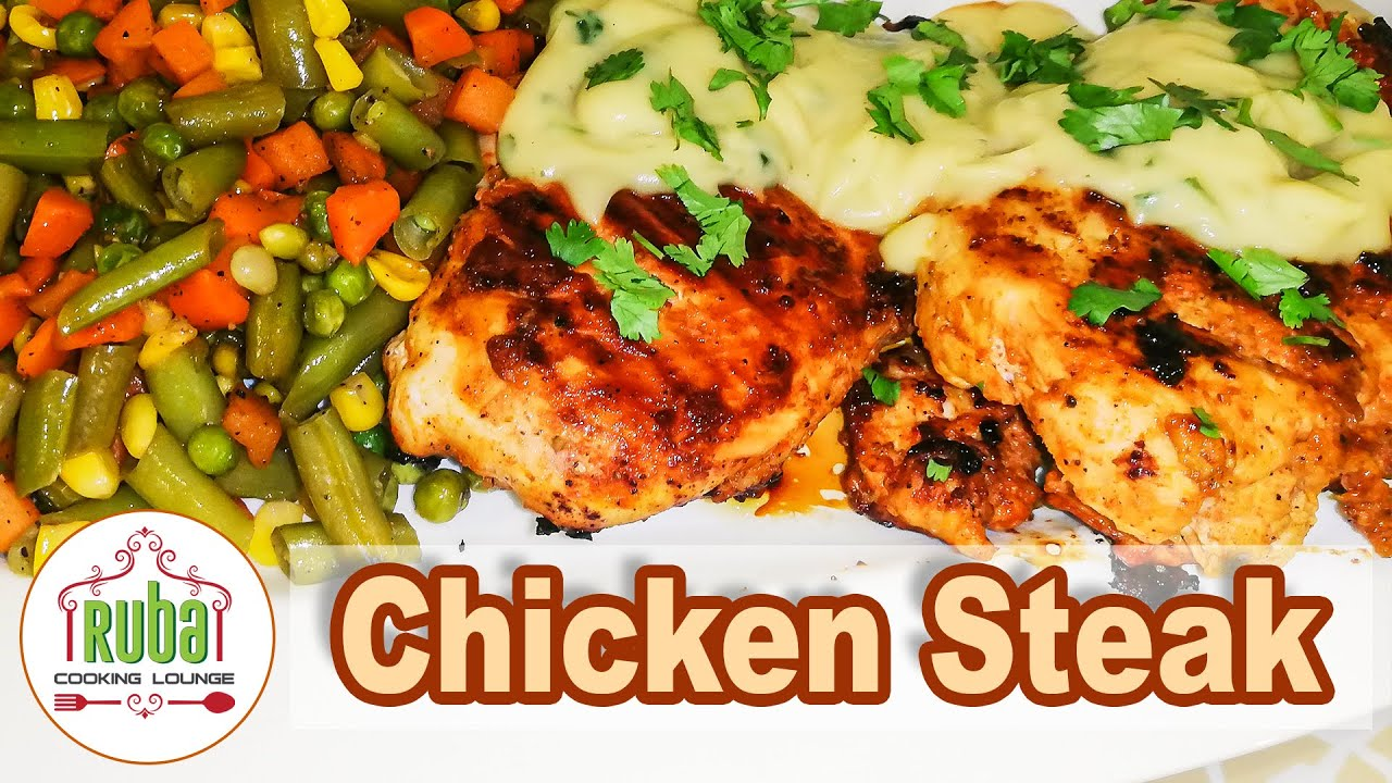 Chicken Steak | Steak Recipe