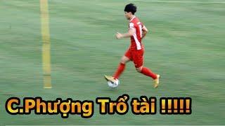 Thử Thách Bóng Đá đi xem Bùi Tiến Dũng , Công Phượng , Quang Hải và ĐT Việt Nam tập AFF Cup 2018