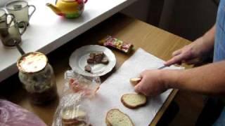 """Making A """"man-made"""" Ukrainian Sandwich"""