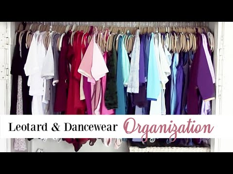 Leotard & Dancewear Organization | Kathryn Morgan