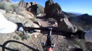 Riding my 2011 Trek/Gary Fisher HIFI Deluxe 29er up, and then back ...