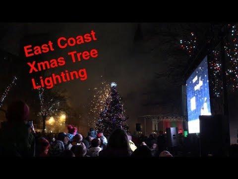 East Coast Christmas Tree Lighting (Nov. 25, 2017)