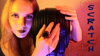 ASMR 3D Binaural Dummy Head - BRAIN MASSAGE - Scratching sounds, whisper, braingasm & tingles ))
