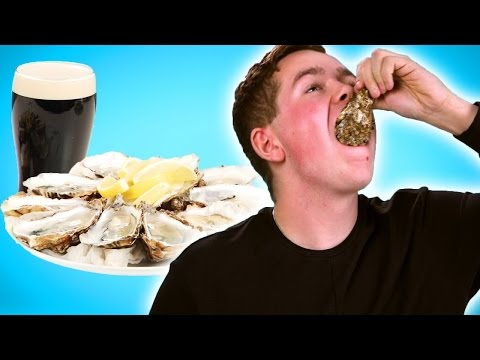 Dutch People Taste Test Irish Food