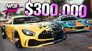 Need for Speed HEAT - $300,000 Budget Build! (AMG GTR vs Lotus Exige)