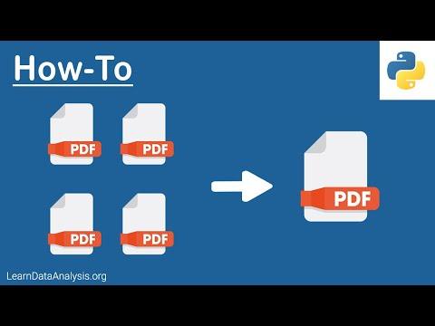 How To Merge Multiple PDF Files Using Python | Python Tutorial