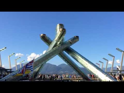 Lighting of the Vancouver 2010 Olympic Cauldron