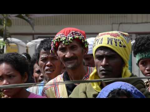 DAR visits farmers' protest in Davao