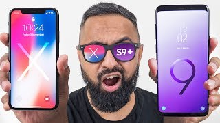 Samsung Galaxy S9 Plus vs iPhone X thumbnail