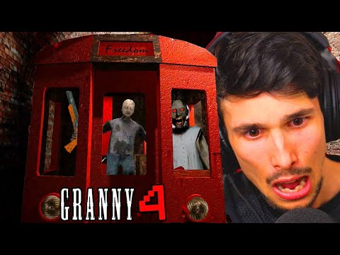 LA NONNA HA LETTERALMENTE UN TRENO NASCOSTO in CASA!! | Granny 4 *Nuovo*
